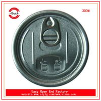 Discount easy open aluminum 300 easy open end/lid