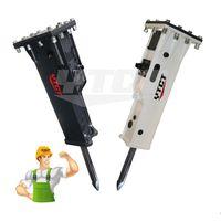 Demolition Hydraulic Hammer Rock Breaker for Excavator Attachment