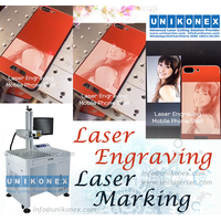 Phone laser engraving, laser marking on phone shell