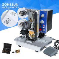 Semi automatic Hot Stamp Coding Printer Machine Hot Code Printer HP-241 Ribbon Date Coding Machine thumbnail image