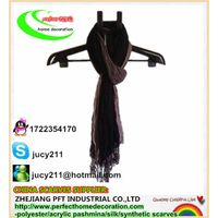 THREE-COLORS NEUTRAL SCARF,polyester scarf,