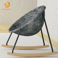Office decoration polyester fiber acoustic chair