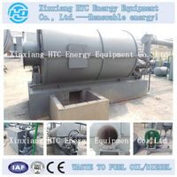 scrap tire recycling pyrolysis machine