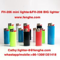 mini disposable flint cigarette lighter FH-206