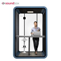 Portable Office Pod Furniture Acoustic Meeting Booth For Two Person thumbnail image