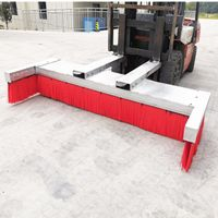 Forklift Mounted Attachment Broom Road Sweeper Brushes