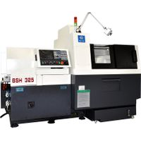 Tsugami type BS205  Double-spindle cnc lathe machine swiss type with 5 axis
