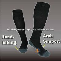 Ankle-Protect with Terry Cushion Compression socks
