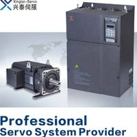 Servo drive and motor for injection plastic machinery