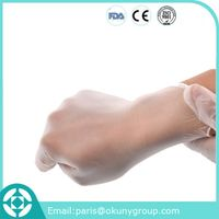 High Quality Customized Experimental Gloves CE Disposable Medical Vinyl Glove