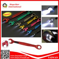 LED Light Ratchet Gear Wrench combination spanner thumbnail image