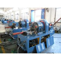 pipe tapering and embossing machine