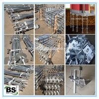 plain steel helical pier