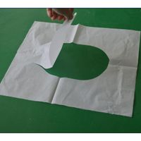 1/4 fold large size travel toilet seat cover paper thumbnail image