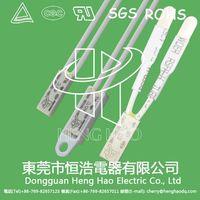 Miniature thermal protector, miniture temperature protector thumbnail image