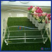 Factory directly customized clear acrylic magazine holder