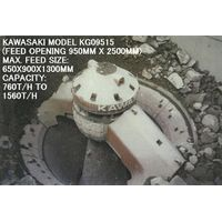 "USED ""KAWASAKI"" MODEL KG-09515 (FEED OPENING 950MM X 2500MM) GYRATORY CRUSHER"