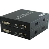 Fiber Optic DVI extender audio