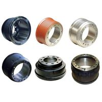 Brake drum for heavy-duty trucks and trailers