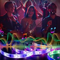 5050 RGB Bluetooth Music Chasing strip thumbnail image