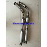 409 stainless steel with ceramic substrate Ternary Catalytic Converter For Volkswagen
