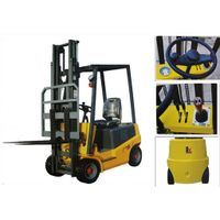 Small Battery Operated Electric Forklift Truck