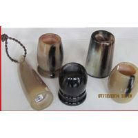 Horn shaving brush handle thumbnail image