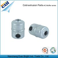 Cold extrusion auto air conditioning parts ac muffler