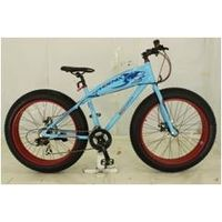 "26"" fat tire bike with steel frame good quality"