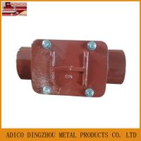 EN877 cast iron drainage access pipece pipe fitting