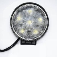 aluminum square housing 4.5'' led work lamp, 18w led work lights for forklift,excavators.