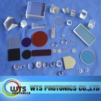 Optical components, prisms, windows, filters, mirrors, beamsplitters, lenses