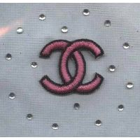 Embroidered badge patch - B tape C