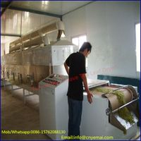 Tunnel belt tea dryer, green tea drying machine, tea leaf dryer