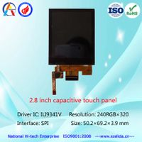 top quality 2.8 inch tft lcd display 240x320 with capacitive touch