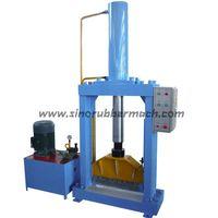 The Hydraulic Vertical Rubber Cutting Machine
