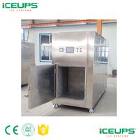 Food cooling processing machine with cooling system