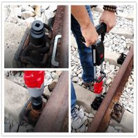 1200Nm railway track construction powerful cordless torque wrench battery bolting tool rechargeable