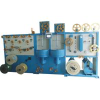 Numerical control type double layer wrapping machine
