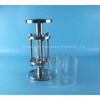 high borosilicate transparent glass pipe thumbnail image