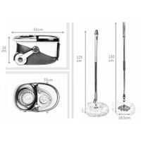 KXY-PC Deluxe 360 spin mop with wheels thumbnail image