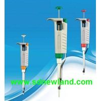 Pipettes: Corrosion-resistant shaft continuous adjustable