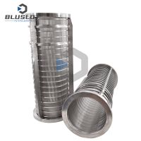 Wedge Wire Screen Filter Basket for Dung Dewatering Machine