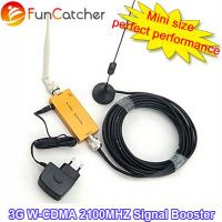 Mini WCDMA 2100MHz Mobile Phone 3G Signal Booster , Omni Antenna + Sucker Antenna with 10M cable