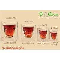 wholesale borosilicate heat resistant clear glass cups mugs for tea drinking coffee
