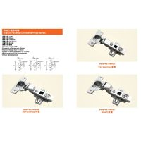 Clip on Two way Concealed Hinge thumbnail image
