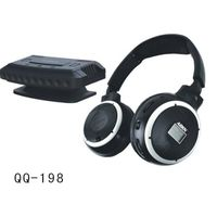 QQ198 PC& TV wireless headphone with mic /LCD display thumbnail image
