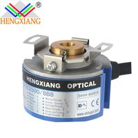 Hengxiang Servo Motor Encoder 12 Phase 2500ppr 8 Poles Diameter 48mm hollow shaft 8mm