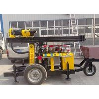 Hard rock drilling rig,water well drilling rig, air compressor drilling machine