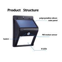 Outdoor Waterproof Solar Sensor Wall Light thumbnail image